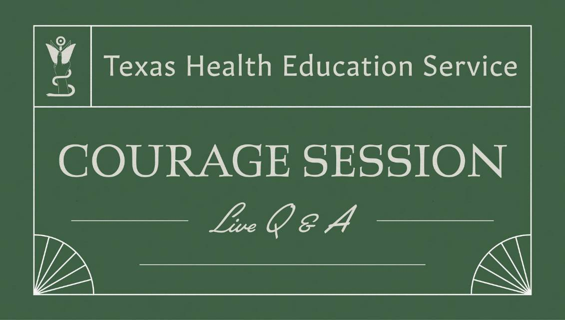 Courage Session banner